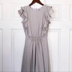 Gray Frilly Zara flowy Jumpsuit